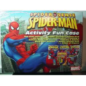 Spider Sense Spider Man Activity Fun Case [Toy] Toys