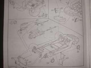 24 Revell Mercedes Benz 300SL ROADSTER (RARE;VINTAGE)