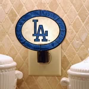 Pack of 3 MLB Los Angeles Dodgers Baseball Stained Glass