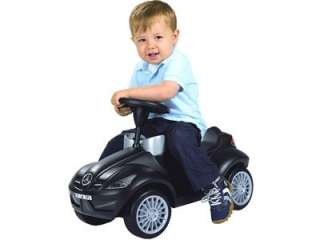 Ride On Toy Big Bobby Mercedes Benz Push Car For Toddlers Black