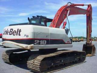 Clean 2007 Linkbelt 210 X2 Hydraulic Excavator, Low Hours, w/A/C, Nice