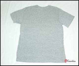 Nautica Sleepwear Pier 3 Classic 83 Mens Gray Cotton T Shirt Large