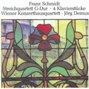 String Quartet / 4 Piano Pieces Schmidt, Vienna