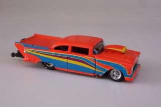 Bel Air Orange Pro Mod Drag Racer Diecast Car 164 Super Chevy