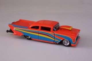 Bel Air Orange Pro Mod Drag Racer Diecast Car 164 Super Chevy