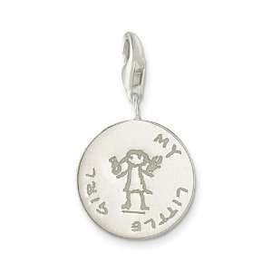 My Little Girl Charm   Sterling Silver Arts, Crafts