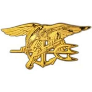 Navy Seal Badge Gold Finish