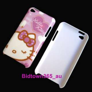 Pieces Hello Kitty Hard Back Case Cover Skin For iPod Touch 4 4th 4G