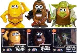 Disney Star Wars Yoda C 3PO Chewbacca Mr Potato Head