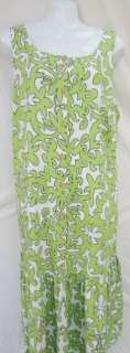 Manuhealii Womens Hawaiian Aloha Summer Sundress Dress Green Large