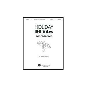 Holiday Hits for Recorder Book Only