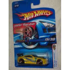 2006 First Editions  #19 Nissan Z Yellow FTE Wheels #2006