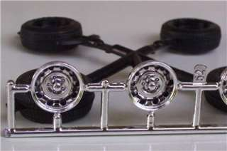 TIRES n WHEELS ONLY 1971 Hemi Cuda MONOGRAM 124 Parts Model Car