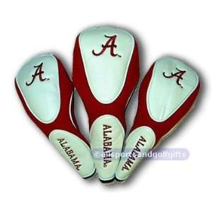 Alabama Crimson Tide Water Resistant Head Covers:  Sports