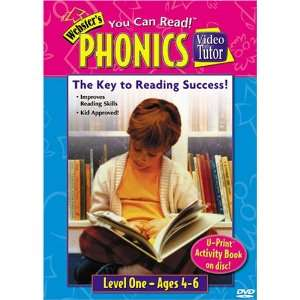 Websters Phonics Video Tutor DVD Movies & TV