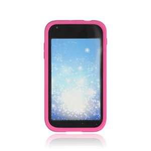 Samsung T989 Hercules Silicone Skin Case   Hot Pink