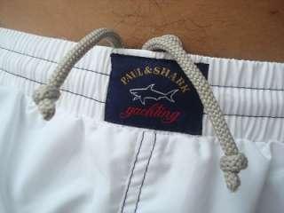 NWT Mens PAUL & SHARK Yacht Club Swim Shorts L 34 36