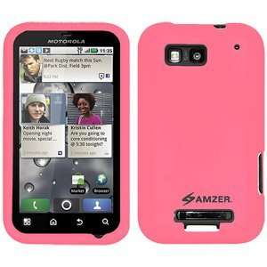 Pink For Motorola Defy Mb525 Quality Material Flexible Electronics