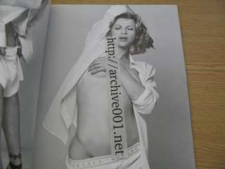 Versace Catalog 34 Bruce Weber Milla Jovovich Courtney Love Pamela