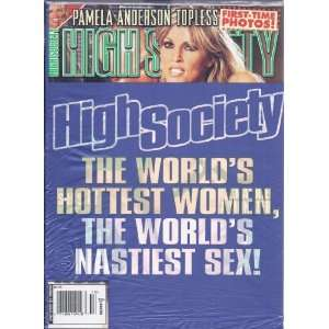 HIGH SOCIETY (HOLIDAY 2005): HIGH SOCIETY MAGAZINE: Books