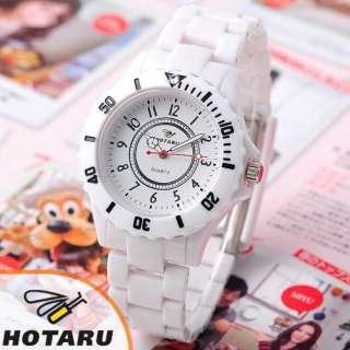 HOTARU Multi Color Men Lady Plastic Quartz Watch Bag