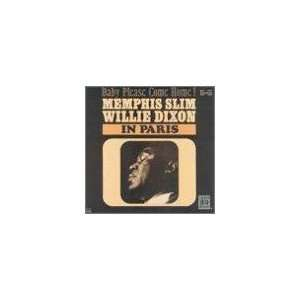 Willie Dixon in Paris [LP Record] Memphis Slim, Willie Dixon Music