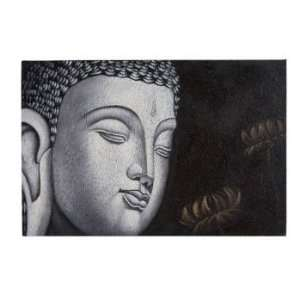 Buddha Painting in Beige: Home & Kitchen