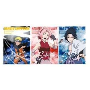 Naruto Shippuden Clear File Folder Set A (Naruto, Sasuke
