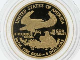 2007 United states American Eagle Four Proof Gold Bullion Coins Set W