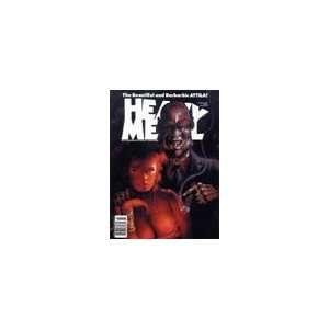 Heavy Metal March 1991 Heavy Metal Books