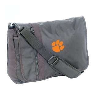 Mercury Luggage Clemson Tigers Black Messenger Bag Sports