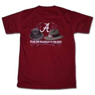 Crimson Tide Football T Shirts   Nick Saban and Bear Bryant Hats