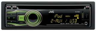JVC KD R621 CD  Car Stereo USB iPod iPhone Aux In