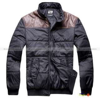 New Men Fashion Slim Fit Winter Short Coat Jacket Outwear Black #058