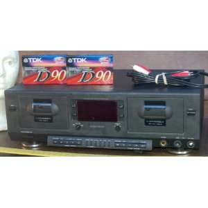 Phillips FC 930 Dual Cassette Deck Double Auto Reverse Studio Quality