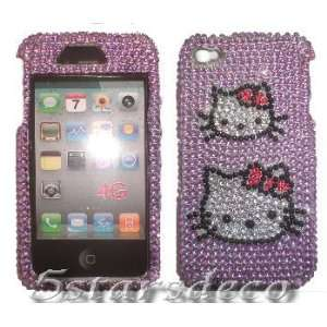 Iphone 4g Accessory   Hello Kitty Skull Design Hard