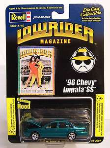 64 LOWRIDER MAGAZINE Issue # 140 Diecast 1996 96 Chevy Impala SS
