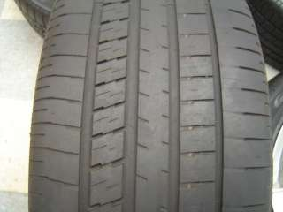 06 07 Jeep Grand Cherokee SRT 8 OEM Wheels Tires Polished 5 Spoke