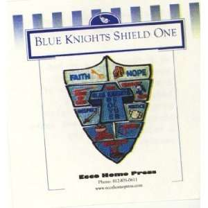 Blue Knights Boys Club Shield Badges   Year 2: Home