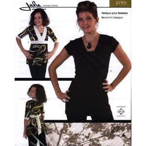 Jalie Empire Tunic Top Pattern By The Each Arts, Crafts