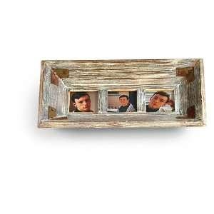 3x3 Rustic Triple Frame