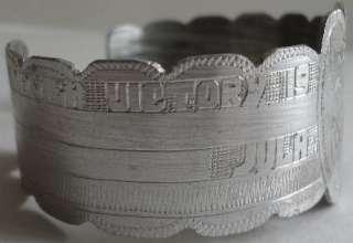 WW2 1945 Manila Victory Philippines Trench Bracelet Hea