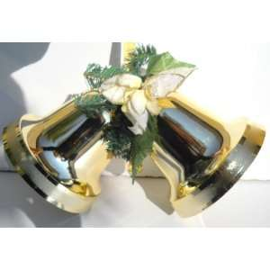 Christmas Shatterproof Jingle Bell Door Decor: Home & Kitchen