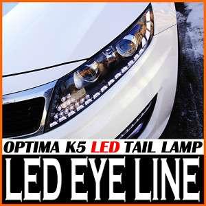 LED Head Eye Line Light DIY Kit 2P For 11 KIA Optima K5