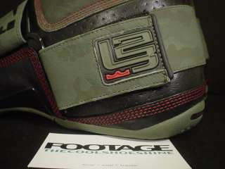 Nike Zoom LEBRON Soldier SOLE BAR COLLECTOR CAMO RED 10