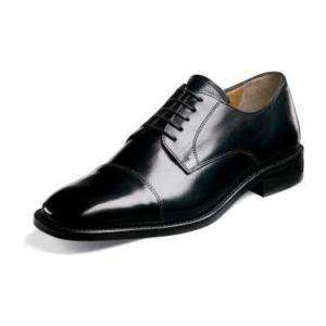 Florsheim LAWRENCE Mens Black Leather Shoe 18194 01