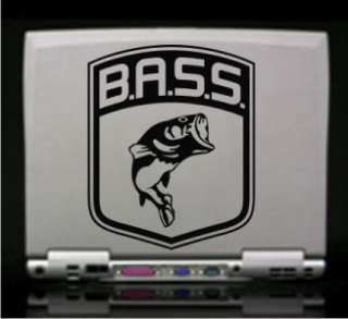Bass Logo Fish Largemouth Boat Vinyl Decal Sticker
