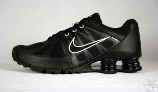 NIKE Shox Agent+ Black / White Mens Running Shoes New Sneakers size 10