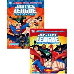 Justice League JUMBO 96 Page Coloring Books 12PK