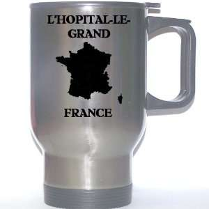 France   LHOPITAL LE GRAND Stainless Steel Mug